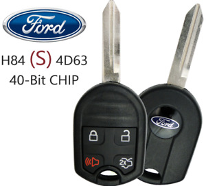 New Ford Remote Key 4 Button OUCD6000022 / CWTWB1U793 4D63 40 BIT (S) OEM Chip