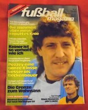 Kicker Fußball Magazin 1981 Nr 3 , mit Super-Wendeposter Manf. Burgsmüller , TOP