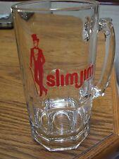 "New listing Vintage Mr. Slim Jim Glass Stein (32 Oz) / 8"" Tall"