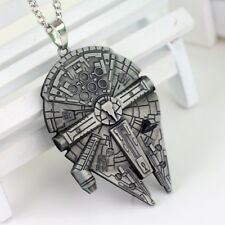 "Star Wars Millenium Falcon Pendant Necklace with 20"" Chain - Ships from USA!"
