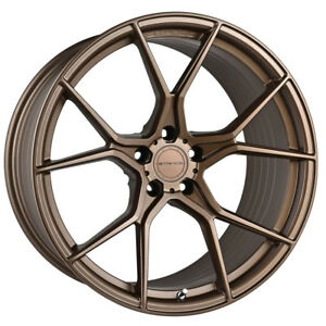 """19"""" STANCE SF07 FORGED BRONZE CONCAVE WHEELS RIMS FITS FORD MUSTANG GT"""