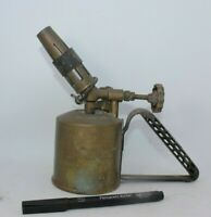 Optimus swedish lamp Vintage brass blow lamp torch antique small