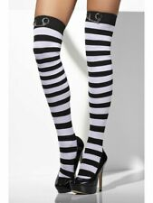 Hold-Ups Black & White Striped with Handcuffs-Police Fancy Dress-Hen Nights