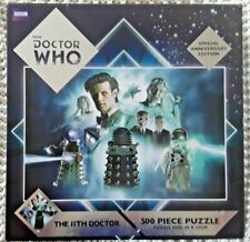 """DR WHO """"THE 11TH DOCTOR"""" 500 PIECE JIGSAW PUZZLE SPECIAL EDITION MATT SMITH *NEW"""