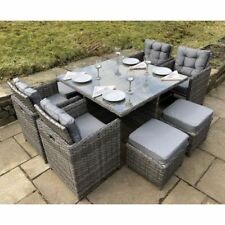 Magnificent Cube Set Garden Patio Furniture Sets For Sale Ebay Download Free Architecture Designs Jebrpmadebymaigaardcom