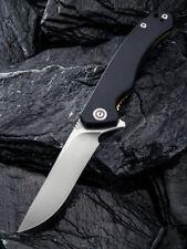 Civivi Courser Liner Lock Knife Black G-10 Handle Plain VG-10 Blade C804C