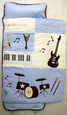 SoHo Nap Mat Blue Rock Band (All Hand Embroidery)
