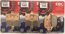 Kawasaki Z800E (ABS) (2013 to 2016) EBC Sintered FRONT and REAR Disc Brake Pads