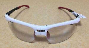 rudy project synform white matte impactX photochromic 2 LS black sunglass New