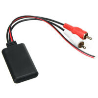 2RCA Car Bluetooth Wireless Connector Adapter For Stereo With 2RCA AUX-IN