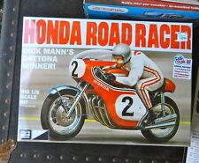 """MPC DICK MANN'S HONDA ROAD RACER """"DAYTONA WINNER"""" 1:8TH SCALE PLASTIC MODEL KIT"""