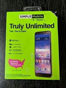 "Simple Mobile Prepaid LG Solo 5.7"" 16GB Android Smartphone - Gray"