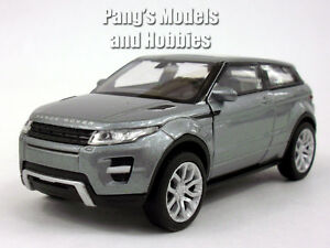 Land Rover Evoque 1/32 - 1/39 Aprox. Scale Diecast Metal Car Model - SILVER