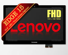 """Lenovo Edge 15 LED LCD Screen Touch Digitizer Assembly 15.6"""" 80H1 80K9 Fast Ship"""