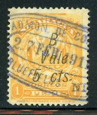 Nicaragua Used Bluefields Specialized: MAXWELL #LB153 5c/1P Oval Cancel $$$