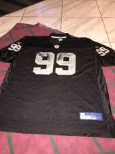 REEBOK WARREN SAPP On Field Jersey 2xl Mens Oakland Raiders