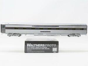 HO Walthers Proto 920-9351 ATSF Santa Fe 85' 4-4-2 Sleeper Passenger - Custom