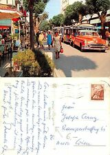 Grado - Viale Dante ANIMATA CON AUTO TIMBRO HOTEL HUNGARIA GRADO (S-L 180)