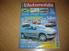 L'automobile N°650 S400 CDi/BMW 740d.911 Turbo/Modena