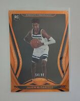 2020-21 PANINI CERTIFIED JADEN McDANIELS RC ORANGE FOIL SP /99 TIMBERWOLVES🔥