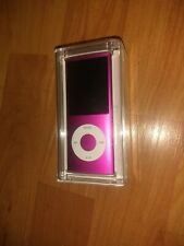 NIB Apple MB735LL/A 8GB iPod Nano 4th Generation - Pink Sealed
