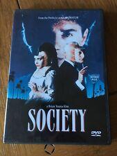 Society( DVD, 2002) Anchor Bay, Brian Yuzna, Region 1, USA