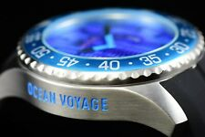 Invicta Men's 50mm Pro Diver Ocean Voyage Limited Ed. Aqua Blue Silicone Watch
