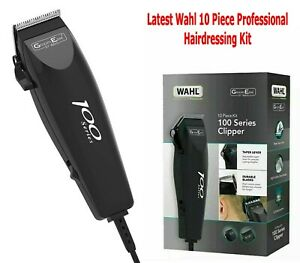 Wahl GroomEase 100 Hairdressing Kit Hair Clipper Professional 10 Piece Set