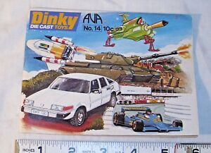 DINKY TOYS 1960s FULL COLOR CATALOG, UFO TV SHOW