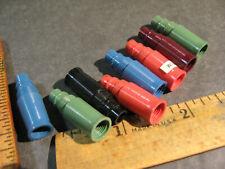 vtg Sheaffer NOS Tip Dip Section Parts Fountain pen Fiesta Red Blue Green Burgun