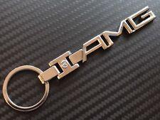 Mercedes AMG Keyring Chrome C63 A45 AMG 55 63 65 C E CLA Benz Metal SLS AMG GT