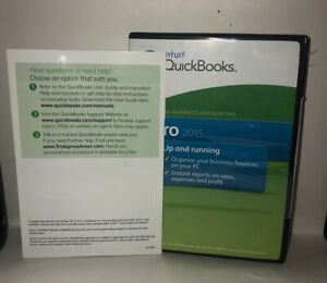 Intuit Quickbooks Pro 2015 Accounting - Pre-owned - Includes License #