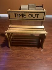 Wooden Solid Wood Time Out Chair Perfect for Toddlers At Home or Daycare