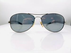 Ray Ban RB8301 Silver Aviator Sunglasses FRAMES ONLY