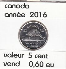 canada 5 cent  2016
