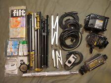 Lowel Pro Photo/Video Light Kit Set Omni, Tota Light, Uni Light Stands