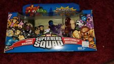 Super Hero Squad X-Men Unite! Juggernaut Attacks Box Set 4 Pack 2007 Hasbro New