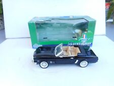 1:24 Sunnyside 1964 Ford Mustang Convertible #SS7711 Diecast Car  BLACK NM BOXED