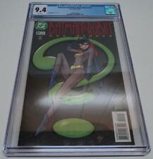 BATMAN & ROBIN ADVENTURES #21 CGC UNIVERSAL GRADE 9.4 (DC Comics 1997) BATGIRL