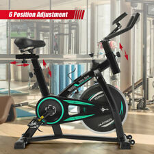 Indoor Fitness Cycling Bike for Home,Belt Drive Exercise Bicycle Lcd Monitor