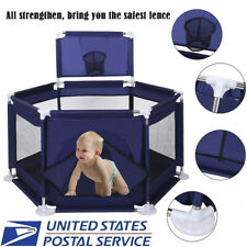 Portable Baby Playpen Tent Ball Pool Kids Safety Fence Play Center Yard Babypen