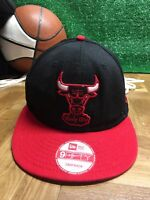 Rare Chicago Bulls Black windy city new era 9fifty snapback hat cap h24