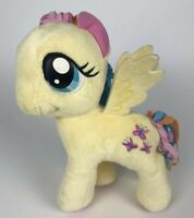 """My Little Pony *Fluttershy* Plush 11"""" Yellow Stuffed Animal Toy Pink Butterfies"""