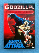 Dvd Godzilla Mothra, And King Ghidoarah Nr Science Fiction Giant Monsters Attack