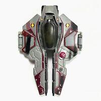 2007 Hasbro STAR WARS Titanium Series Diecast Obi Wan's Jedi Starfighter Clean