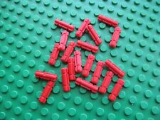 Lego Technic Axle 2 Notch Groove LOT OF 20 PCS Red # 32060