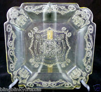 Indiana Depression Glass Lorain Clear Plate