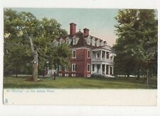 At Shirley On The James River Tuck In Old Virginia USA Vintage Postcard 157a