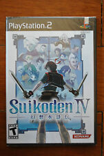 SUIKODEN IV 4 PS2 PLAYSTATION 2 (US) NTSC NUEVO BRAND NEW SEALED