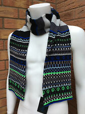 PAUL SMITH FAIR ISLE WOOL SCARF BNWT RETAIL £125 (MATCHING GLOVES AVAILABLE)
